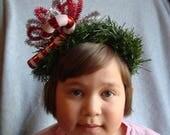 Ugly Christmas Headband Tacky Candy Cane Headband Ugly Party Accessories Tacky Christmas Free Shipping Hair Xmas Candy Cane Hair Accessory