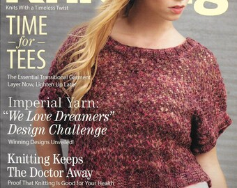 Creative Knitting, Spring 2015, knitting magazine