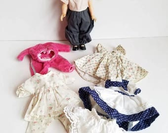 Vintage Vogue Ginny Doll with Clothes Wardrobe * Tagged * 1984 * 80's