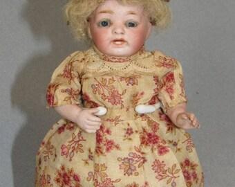 """6.5"""" Kestner 178 Barefoot All-Bisque Antique German Doll"""