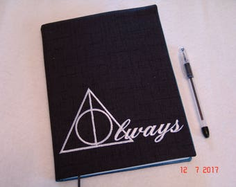 Deathly Hallows-Harry Potter Notebook/Journal Cover