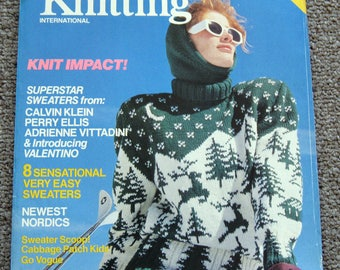 Vogue Knitting International Fall Winter 1985