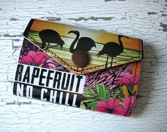 Schiling Hard Cider Grapefruit and Chill Small Snap Wallet