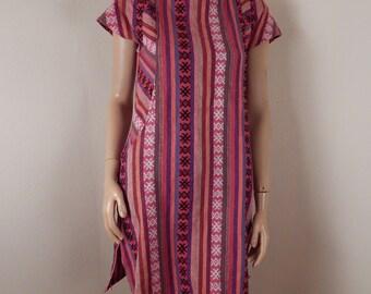 mexican dress, textiles, southwestern, hippie dress