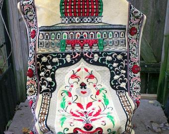 Beautiful Bold Colors Turkish Prayer Rug