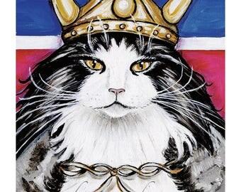 Viking, Norwegian, Norwegian Forest Cat, Wegie, Cat t-shirt,Norway
