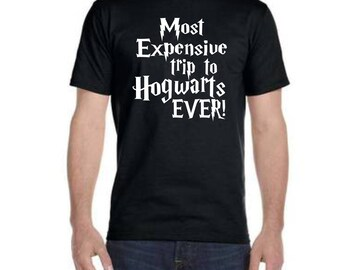 Most Expensive Day Ever! // Men's Harry Potter Wizarding World Shirt // Dad Harry Potter Shirt // Funny Dad Harry Potter // Wizarding World