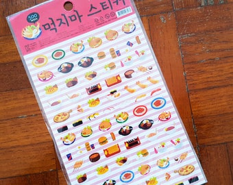 Japanese Food, Korean Food, Food sticker, Japanese Food sticker, Korean Food sticker, Sushi sticker, Ramen sticker, Food sticker