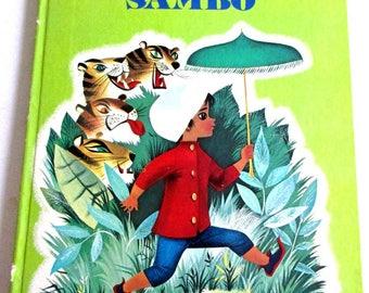 "A Golden Book, ""Little Black Sambo"", Second print 1976, Copy write 1961, Large book"