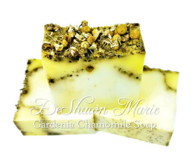 SOAP Gardenia Chamomile Soap Loaf, 3lb Soap Loaf, Wholesale Soap, Wholesale Soap Loaves, Vegan Soap, Handmade Soap, Christmas Gift,Soap Gift