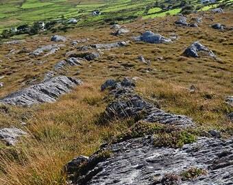 Ireland, Irish, Gaelic, Celtic, Mountains, Emerald Isle, Gold, Slieve Miskish Mountains, County Cork, Beara Peninsula, Copper, Mining