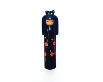 Vintage Tall Japanese Kokeshi Doll