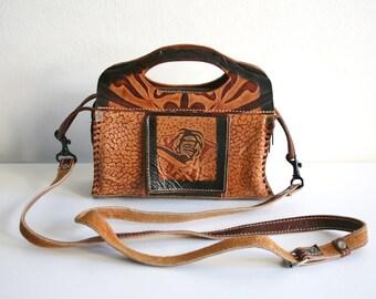 Leather Elephant Handbag
