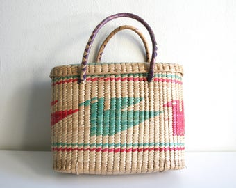 Handwoven Mexican Basket
