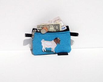 Boer Goat Coin Purse