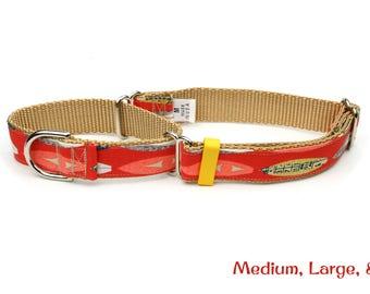 Surfboard Martingale Dog Collar - Vintage Surfboards - Small, Medium, Large & X-Large