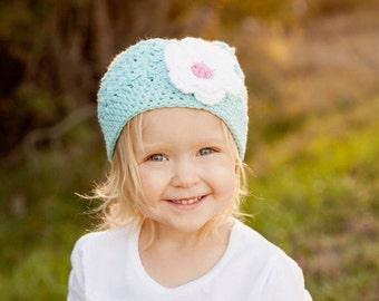 Crochet Girls Hat / Girls Beanie / Newborn Girl Hat / Gift For Girls / Crochet Baby Hat / Toddler Girl Hat / Hats For Girls / Baby Beanie