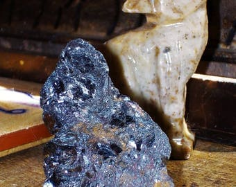 "Two Pair (2 pieces) Large Rough Galena Specimens - ""The Awakening Stone"", Spirit Connection, Lucid Dreams, Unconditional Love, Calmness"