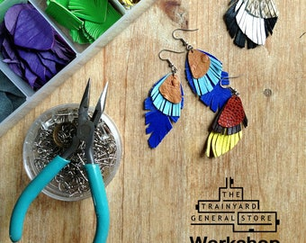 WORKSHOP - Leather Jewelry at Trainyard General Store