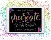 DND Lettering Procreate Brush Bundle