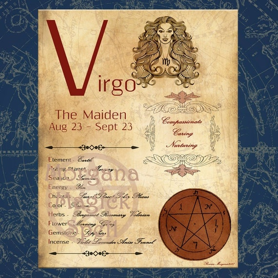 VIRGO ZODIAC, Digital Download
