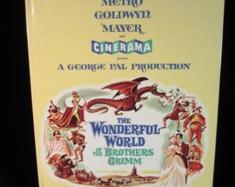 VTG 1962 MGM The Wonderful World of The Brothers Grimm Book