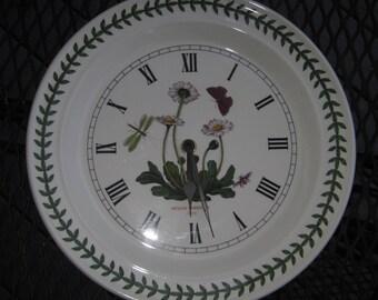 Portmeirion Botanic Garden Wall Clock