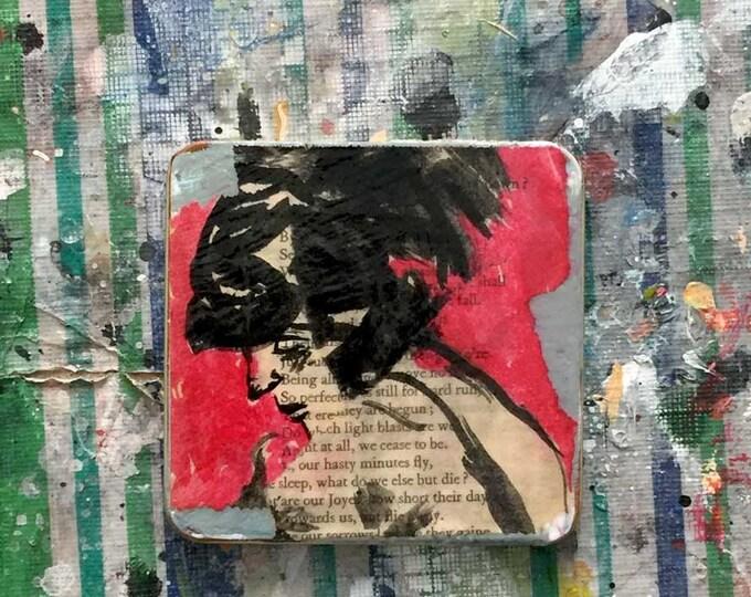"""cigar-tin story / art object / art tin / short story / art gift / literary gift / short fiction / """"Letter 27"""""""