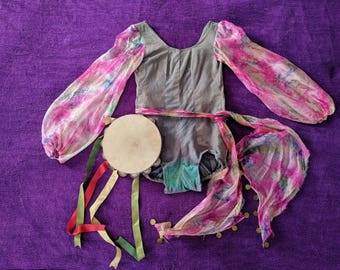 1930s Dance Costume Spanish Gypsy with Provenance XS