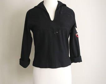 Navy Uniform Top