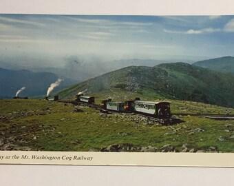 1970 New Hampshire Cog Railroad postcard.