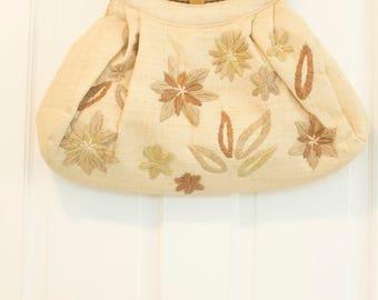Adrienne Vittadini lightweight embroidered handbag