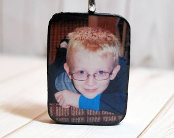Photo jewelry, photo necklace, custom photo pendant, photo charm, keepsake jewelry, mom jewelry, custom photo gift, personalized pendant