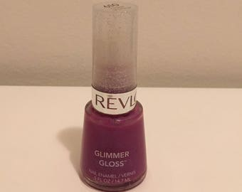 Revlon Glimmer Gloss Grape Shimmer Nail Polish