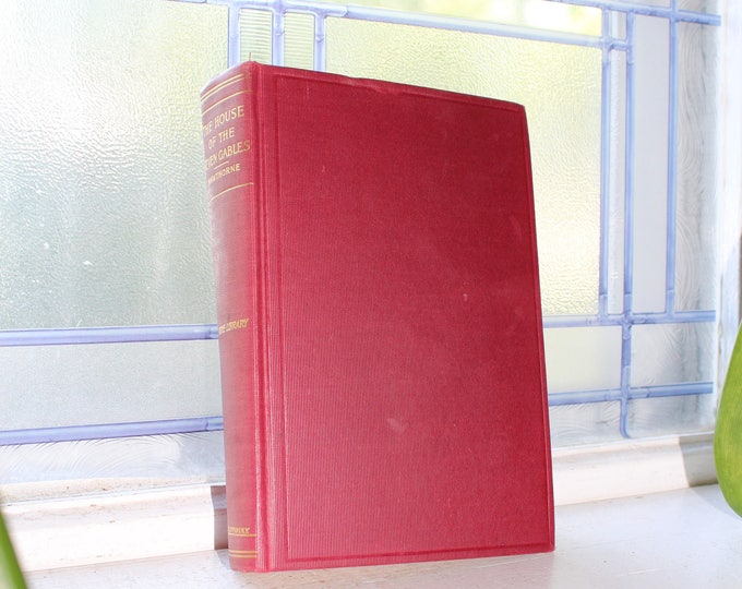 Antique Book House of the Seven Gables Hawthorne