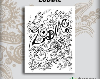 Zodiac Design Book