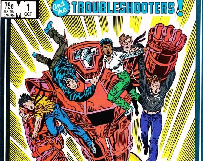 Vintage Spitfire And The Troubleshooters Comic Book, No 1, October 1986