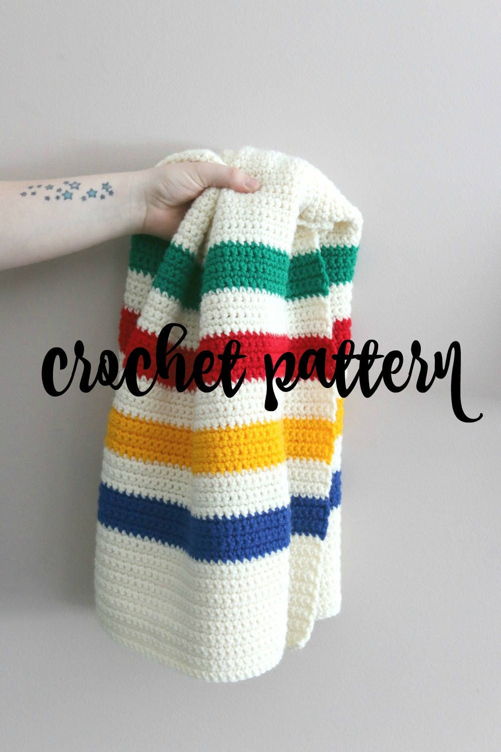 Hudson bay blanket pattern crochet baby blanket pattern zoom bankloansurffo Image collections