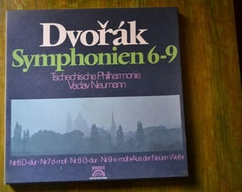 Dvorak Symphonien 6-9 - Box Set - Four LP