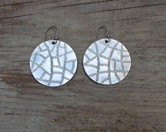 Woven earrings V