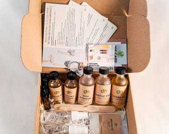 DIY Organic Beauty Box  Natural and Organic Beauty   November Monthly Subscription Box   Subscription Box   Beauty Box   Gift for her