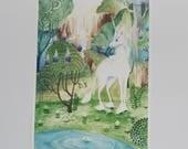 ART PRINT - Last Unicorn