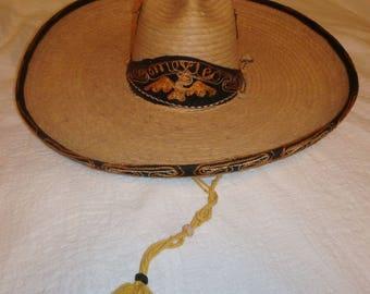 Large Straw Sombrero