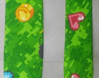 Green 8-bit Necktie