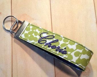 Personalized Keychain Monogram Keychain Personalized Gift for Her Personalized Key Fob Personalized Keyfob Custom Initial Monogrammed Gift