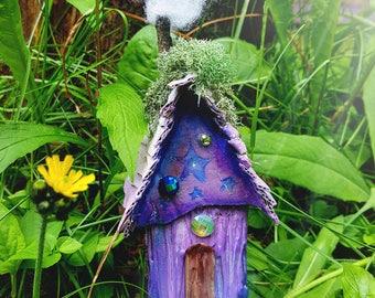Purple star fairy house