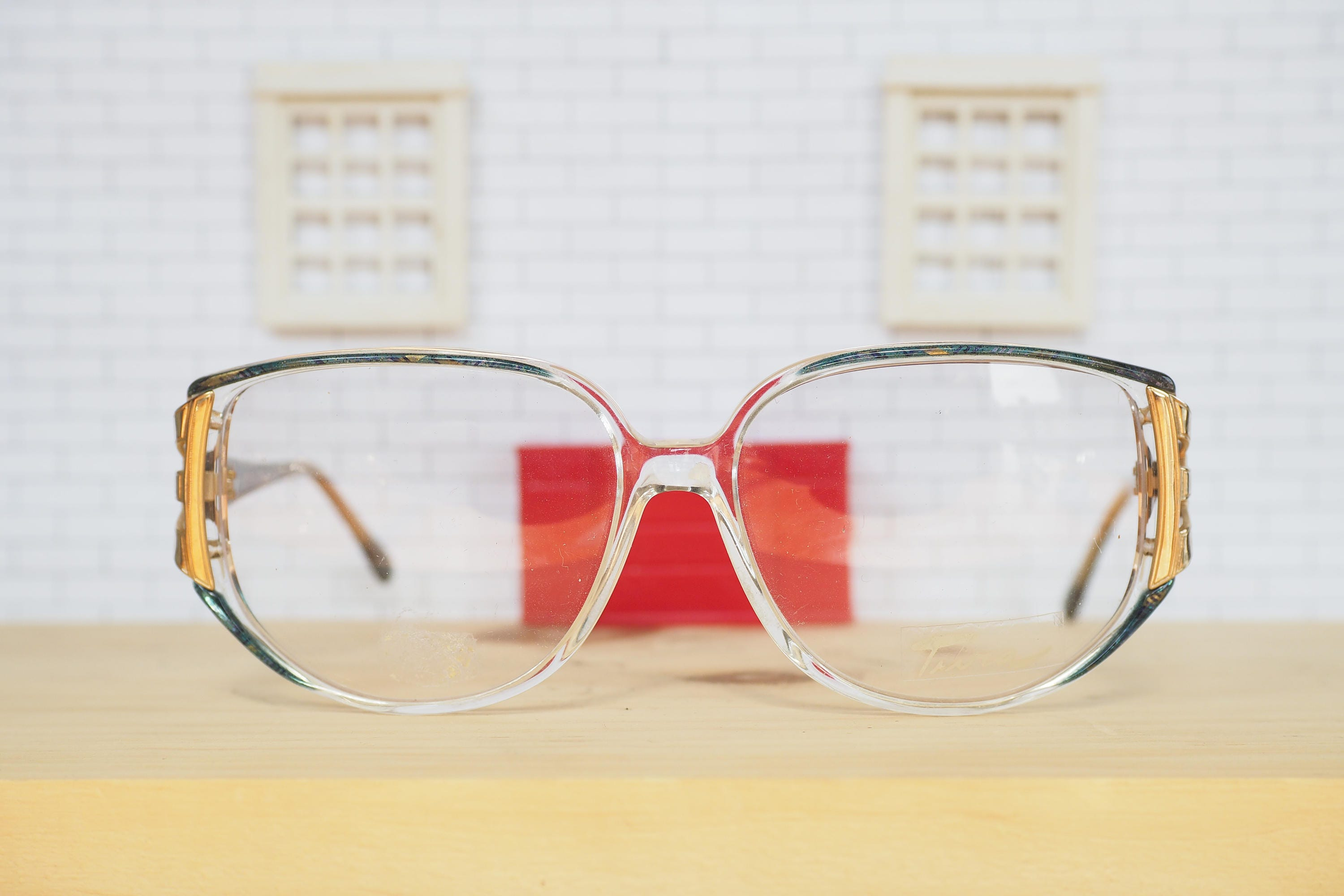 Vintage Eyeglass 1970\'s Tura Frame new Old Stock Glasses Made In ...