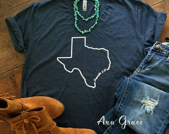 Texas Strong fundraising hurricane relief t shirt // Texas tee t-shirt // hurricane harvey relief fundraising t-shirt