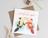 """You are my significant """"otter"""" Anniversary Card"""