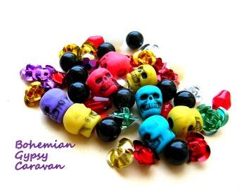 Day of the Dead Medley - Skulls - Flowers - Roses - De los Muertos